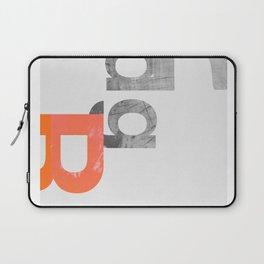 typeset 3 Laptop Sleeve