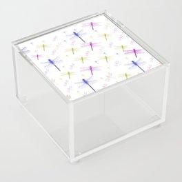 Dragonfly Pattern Acrylic Box