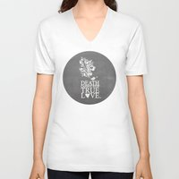 princess bride V-neck T-shirts featuring death cannot stop true love.. princess bride quote by studiomarshallarts