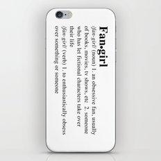 fangirl iPhone & iPod Skin