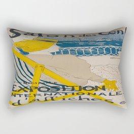 Vintage poster - Salon des Cent Rectangular Pillow