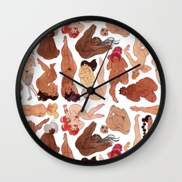 Free girls Wall Clock