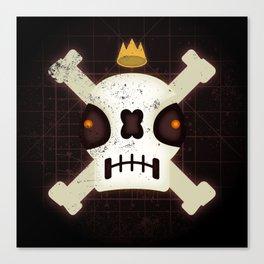 Skull King Canvas Print