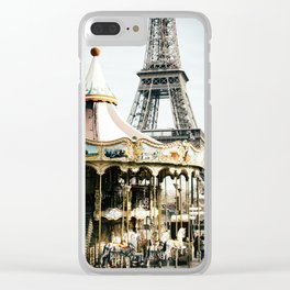 Only One Paris Clear iPhone Case