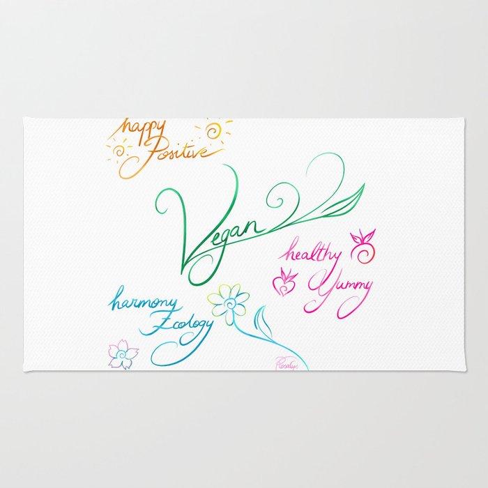 Vegan & happy lifestyle Rug