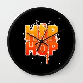 Hip Hop Party Hip Hop Music Rap Hip Hop Wall Clock