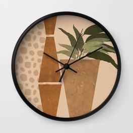 Nomad Desert House Still Life Wall Clock