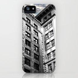 Boston [Sky cut 413] Massachussets, Usa iPhone Case