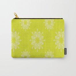 Citron Lace Carry-All Pouch