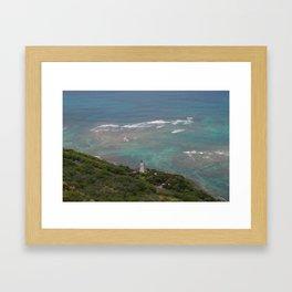 Hawaii Ocean Framed Art Print