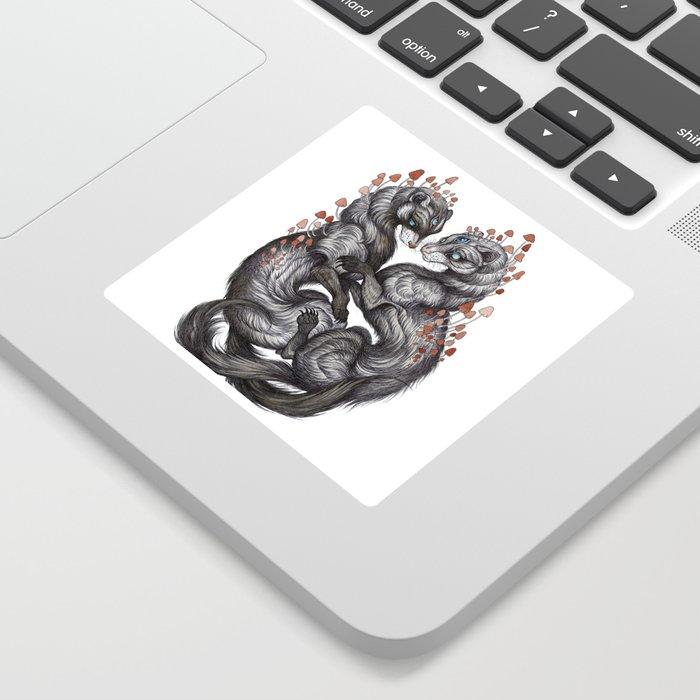 Ferret Companions Sticker