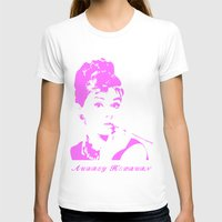 audrey hepburn T-shirts featuring Audrey Hepburn by Walter Eckland