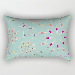 synchro love Rectangular Pillow