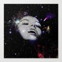 venus Canvas Prints featuring Venus by Liall Linz