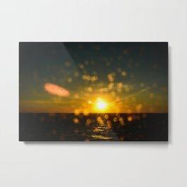 Splash sunset Metal Print