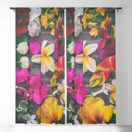 Tropical Flowers Blackout Curtain
