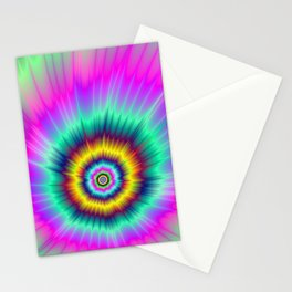Colorful Comet Stationery Cards
