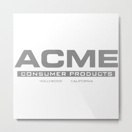 ACME Metal Print
