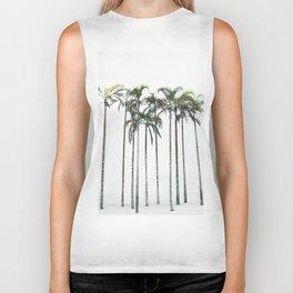 Palm Trees 12 Biker Tank