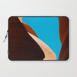 Curves of the Valley Laptop Sleeve