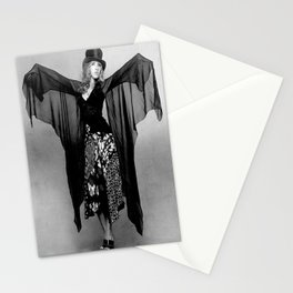 STEVIE NICKS Singer Rocker, Dress Black  Stationery Cards
