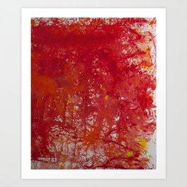 Blood is the New Black Art Print