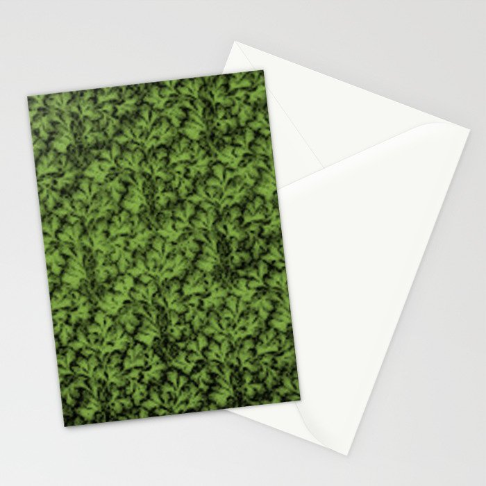 Vintage Floral Lace Leaf Greenery Stationery Cards
