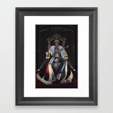 Get Sherlock Framed Art Print