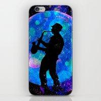 jazz iPhone & iPod Skins featuring Jazz by Saundra Myles