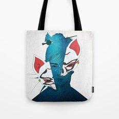 Fox Mask Tote Bag
