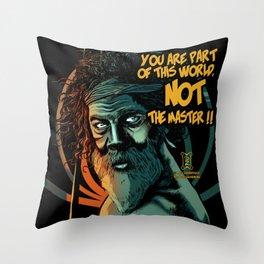 Aboriginal Wisdom Throw Pillow