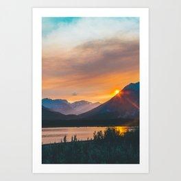 Jasper, Alberta Art Print
