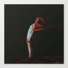 Red Hands (Joshua Tree) Canvas Print