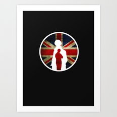 Queen and Country (Sherlock BBC) Art Print