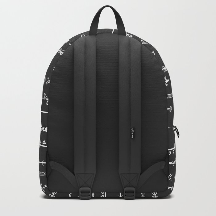Follow  your own path arrows Backpack