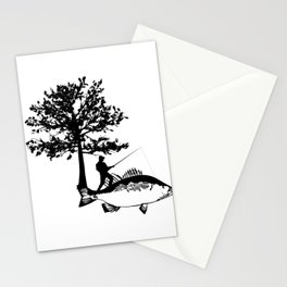 Fisherman Gifts For Dad Boyfriend Men Fishing Stationery Cards