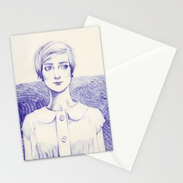 Short Lines Stationery Cards