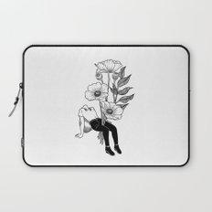 Let me bloom Laptop Sleeve