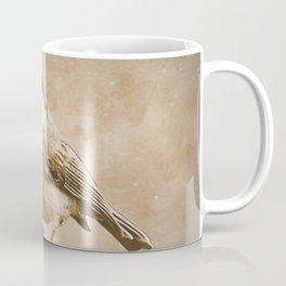 Rustic Chickadee Bird Modern Country Farmhouse Cottage Art A488 Coffee Mug
