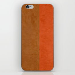 Shades of Brown iPhone Skin