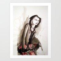Dhampir in tutu Art Print