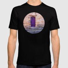 Purple Door Mens Fitted Tee MEDIUM Black