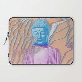 Glitch Buddha Laptop Sleeve