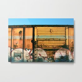 Box Car Porn Metal Print
