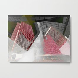 The NN-Building (Rotterdam) 8 Metal Print