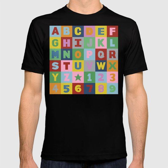 Alphabet T-shirt