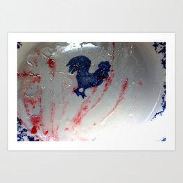 raspberry jam Art Print