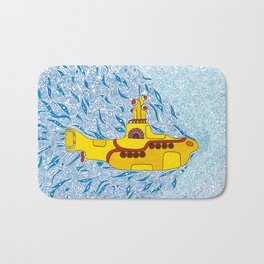 My Yellow Submarine Bath Mat
