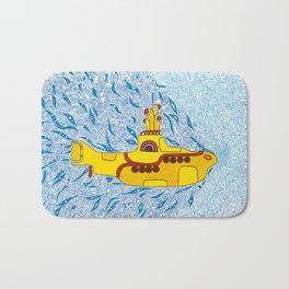 My Yellow Submarine Bath Mat