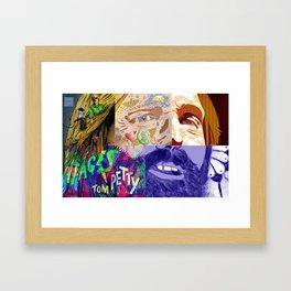 """Faces - Petty"" by Blackard, Boehm, Fiche, Livengood, & McCarthy Framed Art Print"
